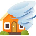 Cobertura para vendaval, ciclone, tornado, furacão ou queda de granizo